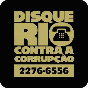 Disque Rio contra a corrupção (21) 2276-6556
